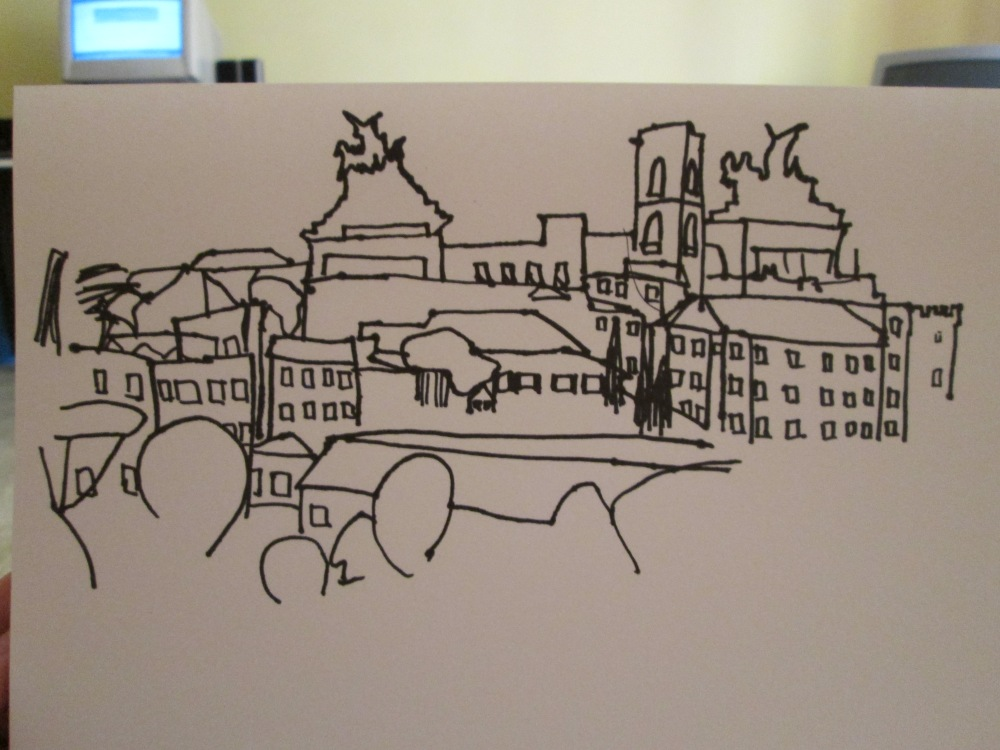 What I drew.