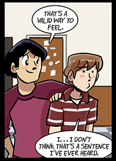 via dumbing of age
